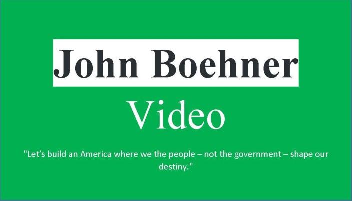 Boehner Video