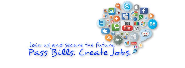 Pass Bills. Create Jobs.