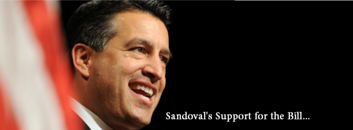 Governor Sandoval Supports the Bill