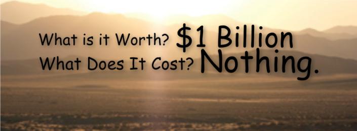 Worth 1 Billion Cost Nothing
