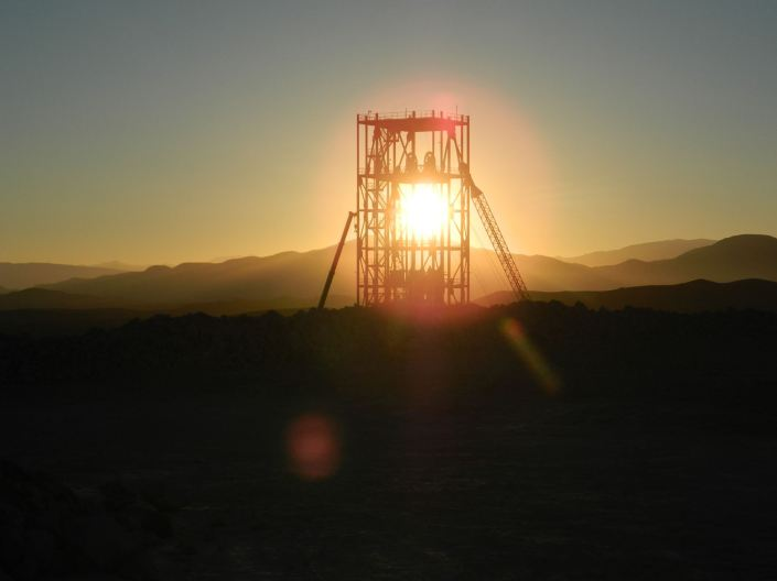 Nevada Copper Sunset