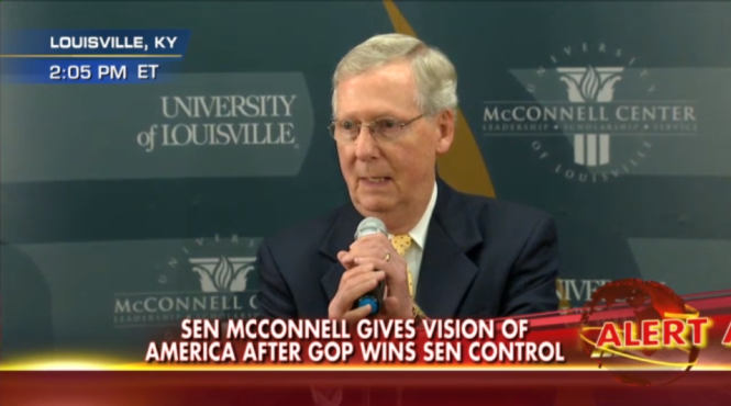 McConnell  Americans want us to look for areas of agreement   Fox News Video